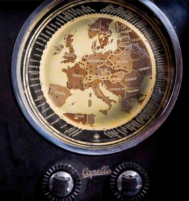 Skala w radiu Capello/Źródło: I. Kozina – Ikony Designu w Województwie Śląskim