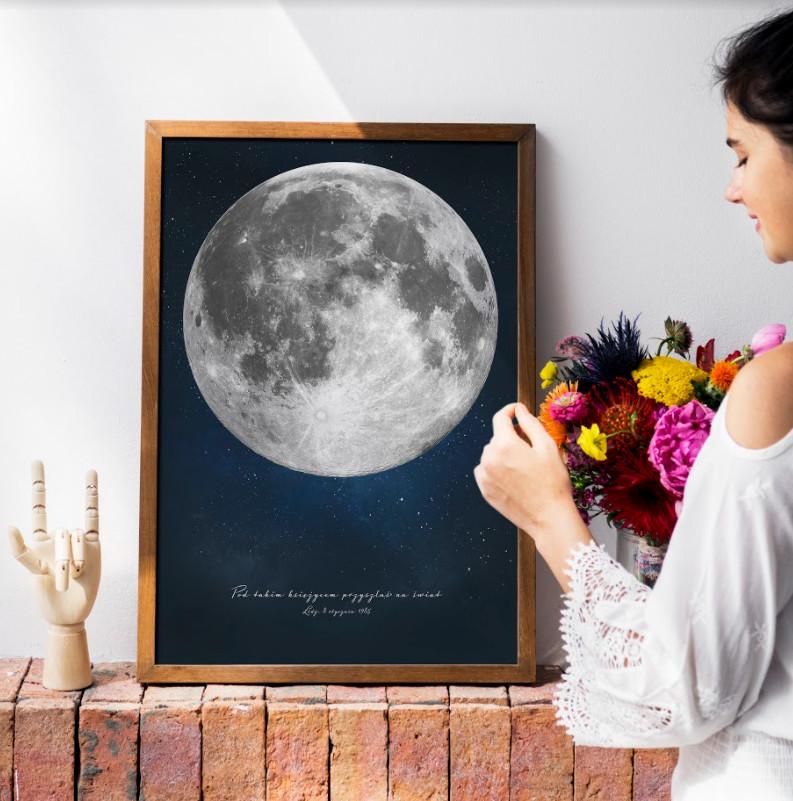 personalizowany prezent na ścianę